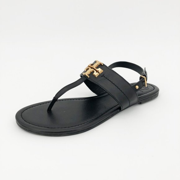 Tory Burch Shoes - Tory Burch Everly Sandal Thong Strappy Buckle Flat